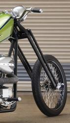 Gabelbrücke Motorrad Harley Davidson Gabelholme Tauchrohre Gabelfeder Lenker Bre
