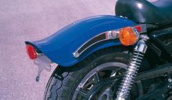 Harley-Davidson Rahmen und Fender Umbau