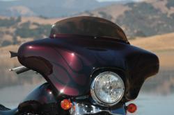 Windschild Motorrad Harley Davidson Frontverkleidung