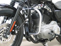 Harley Davidson Rahmenzubehör Sturzbügel Highway Bars verchromt Harley-Davids