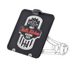 Harley seitlicher Kennzeichenhalter Heck Umbau Heckfender