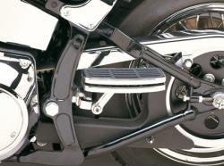 Harley Davidson Sozius Minitrittbretter 360° verstellbar Softail Motorräder