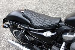 Harley Davidson Sitze Solo Sitz Sportster Dyna Softail Touring