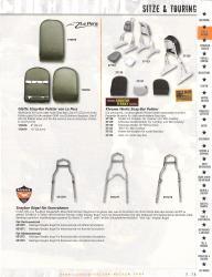 Harley Davidson Satteltaschen Solo Haltebügel Scheinwerfer Lenker