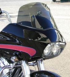 Harley Davidson Windschild Rahmenzubehör