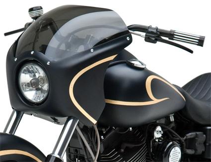 Lampenmaske Cafe Racer Harley Davidson