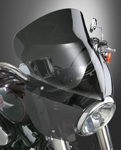 Harley Shop & Zubehör Windschild Frontverkleidung Scheinwerfer Lenker
